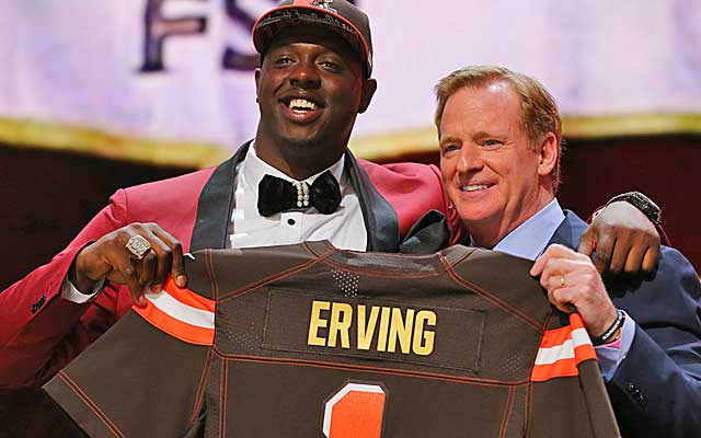 Colquitt County's Cam Erving Selected First Round in NFL Draft